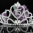 Silver Crystal Occasion Tiara;Huge 15 or 16 Birthday Tiara;Fancy Fashion Hair accessories#1058s