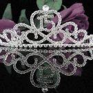 Silver Crystal Occasion Tiara;C ute 15 Birthday Tiara;Fancy Fashion Hair accessories#1042