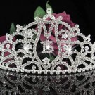 Huge Elegance 15 or 16 Birthday Tiara;Crystal Occasion Tiara;Fancy Fashion Hair accessories#1014