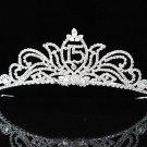 Elegance 15 Birthday Tiara;Occasion Crystal Tiara;Fancy Fashion Hair accessories#1139