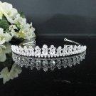 Elegance Bridesmaid Tiara;Occasion Crystal Bride headpiece ;Fancy Fashion Hair accessories #6449