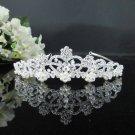 Delicate Bridesmaid Tiara;Crystal Pearl Bride headpiece ;Fancy Fashion Hair accessories #9306pl