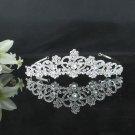 Delicate Bridesmaid Tiara;Crystal Silver Bride headpiece ;Fancy Fashion Hair accessories #9306s
