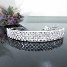 Sweetheart Bridesmaid Tiara;Crystal Silver Bride headband ;Fancy Fashion Hair accessories #250