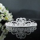 Bridesmaid Tiara;Crystal Silver Pearl Bride headband ;Fancy Fashion Hair accessories #519