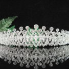 Bridesmaid Tiara;Occasion Crystal Silver Bride Headpiece ;Fancy Fashion Hair accessories #1847