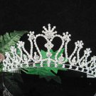 Bridesmaid Tiara;Occasion Crystal Silver Bride Headpiece ;Fancy Fashion Hair accessories #1828