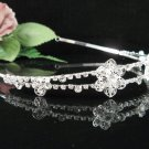 Bridesmaid Tiara;Occasion Crystal Silver Bride Headband;Fancy Fashion Hair accessories #1948