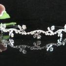 Bridesmaid Tiara;Occasion Crystal Silver Bride Headband;Fancy Fashion Hair accessories #1950
