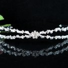 Bridesmaid Tiara;Occasion Crystal Silver Bride Headband;Fancy Fashion Hair accessories #1953