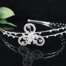 Bridesmaid Tiara;Occasion Crystal Silver Bride Headband;Fancy Fashion Hair accessories #1958