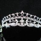 Bridesmaid Tiara;Occasion Crystal Silver Bride Headpiece;Fancy Fashion Hair accessories #966