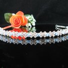 Bridesmaid Tiara;Occasion Crystal Silver Bride Headband;Fancy Fashion Hair accessories #4055b