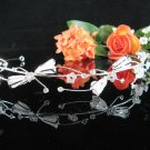 Bridesmaid Tiara;Occasion Crystal Silver Bride Headband;Fancy Fashion Hair accessories #4133