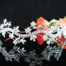 Bridesmaid Tiara;Occasion Crystal Silver Bride Headband;Fancy Fashion Hair accessories #4938
