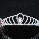 Crystal Silver Bride Headpiece ;Bridesmaid Tiara;Bridal Veil ;Fancy Fashion Hair accessories #SJ50