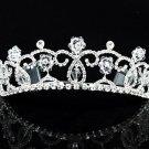 Opera Hair accessories ;Bridal Veil ;Crystal Silver Bride Headpiece;Bridesmaid Tiara#9034