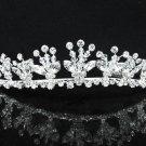 Opera Hair accessories ;Bridal Veil ;Crystal Silver Bride Headpiece;Bridesmaid Tiara#9051