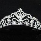 Opera Hair accessories ;Bridal Veil ;Crystal Silver Bride Headpiece;Bridesmaid Tiara#c06