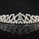 Opera Hair accessories ;Bridal Veil ;Crystal Silver Bride Headpiece;Bridesmaid Tiara#c07