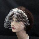 Opera Hair accessories ;Bridal Veil ;Crystal Silver Bride Headpiece;Bridesmaid Tiara#c015