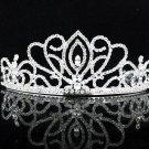 Opera Hair accessories ;Bridal Veil ;Crystal Silver Bride Headpiece;Bridesmaid Tiara#1280