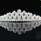 Opera Hair accessories ;Bridal Veil ;Crystal Silver Bride Headpiece;Bridesmaid Tiara#7274
