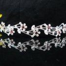 Bridesmaid Tiara ; Bridal Veil ;Opera Hair accessories ;Silver Vine Bride Headpiece#5305r