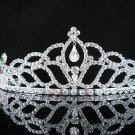 Opera Hair accessories ;Bridesmaid Tiara;Bridal Veil ;Silver Floral Bride Headpiece#8989