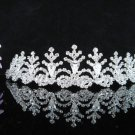 Bridal Veil ;Opera Hair accessories ;Bridesmaid Tiara;Fancy Silver Bride Headpiece#6468