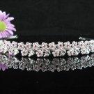 Bridal Veil ;Opera Hair accessories ;Bridesmaid Tiara;Fancy Silver Bride Headband #61r