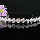 Bridal Veil ;Opera Hair accessories ;Bridesmaid Tiara;Fancy Silver Bride Headband #62r