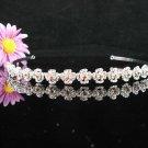 Bridal Veil ;Opera Hair accessories ;Bridesmaid Tiara;Fancy Silver Bride Headband #62y