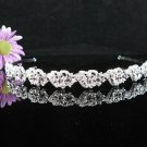 Bridal Veil ;Opera Hair accessories ;Bridesmaid Tiara;Fancy Silver Bride Headband #63pu