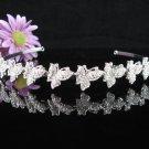 Bridal Veil ;Opera Hair accessories ;Bridesmaid Tiara;Fancy Silver Bride Headband #66w