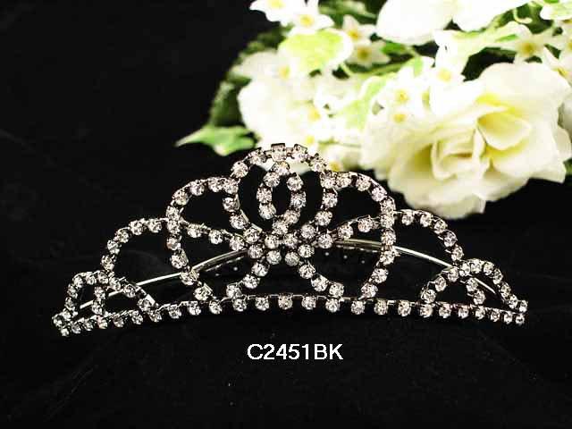 Wedding Headpiece; Bridal Veil ;Opera accessories ;Bridesmaid Comb;Teen girl Sweetheart Tiara #2451