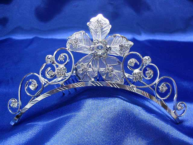 Wedding Headpiece; Bridal Veil ;Opera accessories ;Bridesmaid Comb;Teen girl Sweetheart Tiara #1496