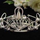Wedding Headpiece; Bridal Veil ;Opera accessories ;Bridesmaid Comb;Teen girl Sweetheart Tiara #458