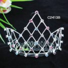 Bridal Veil ;Opera accessories ;Wedding Headpiece; Bridesmaid Comb;Teen girl Sweetheart Tiara #2413b