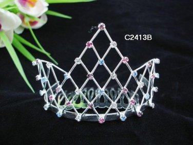 Bridal Veil ;Opera accessories ;Wedding Headpiece; Bridesmaid Comb;Teen girl Sweetheart Tiara #2413b