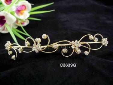 Opera accessories ;Bridal Veil ;Wedding Headpiece; Floral Bridesmaid Comb;Teen girl Tiara #3839g