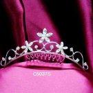 Opera accessories ;Bridal Veil ;Wedding Headpiece;Silver Bridesmaid Comb;Teen girl Tiara #5037