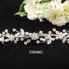 Opera accessories ;Bridal Veil ;Wedding Headpiece;Silver Bridesmaid Comb;Teen girl Tiara #5548