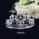 Silver Sweetheart Comb;Wedding Tiara;Bride Tiara;Fashion Bridesmaid Hair accessories;Bridal Comb#10