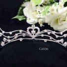 Silver Sweetheart Comb;Bride Tiara;Fashion Bridesmaid Hair accessories;Bridal Comb#6536