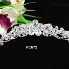 Silver Combs;Teen Girl Comb ;Bride Tiara;tiara;Fashion Bridesmaid Hair accessories;Bridal Comb#672