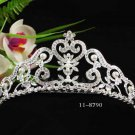 Opera Tiara;Bridesmaid Hair accessories ;Bridal Comb;Silver Teen Girl Comb ;Bride Tiara#8790s