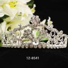 Opera Tiara;Bridesmaid Hair accessories ;Bridal Comb;Silver Teen Girl Comb ;Bride Tiara#8541