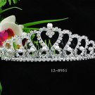 Opera Tiara;Bridesmaid Hair accessories ;Bridal Comb;Silver Teen Girl Comb ;Bride Tiara#8951s