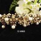 Opera Tiara;Bridesmaid Hair accessories ;Bridal Comb;Silver Teen Girl Comb ;Bride Tiara#8963